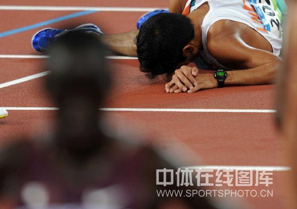 图文-男子10000米决赛 印度选手辛格