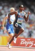 图文-奥运会男子200米预赛 美国肖恩大步向前