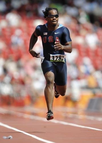 图文-奥运会男子200米预赛 美国选手沃尔特