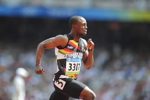 图文-奥运会男子200米预赛 布莱恩大步向前