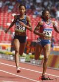 图文-奥运女子200米预赛飞奔吧