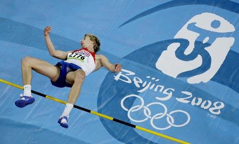 图文-[奥运]田径男子跳高决赛 下面就是中国印