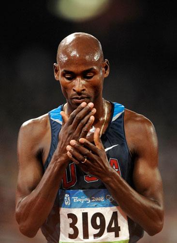 图文-奥运会男子5000米预赛 美国运动员