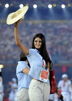 图文-巴拉圭标枪运动员弗朗哥性感照 充满贵族气质