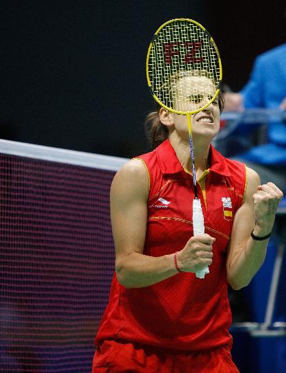 图文-羽毛球比赛开战 马丁内斯女单首轮获胜