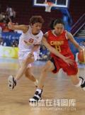 图文-[奥运会]中国女篮VS西班牙 苗立杰毫无惧色