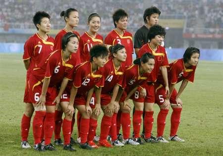 图文-[女足]加拿大队VS中国队 中国女足首发阵容