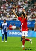 图文-[男足]韩国vs洪都拉斯 金栋振庆祝进球