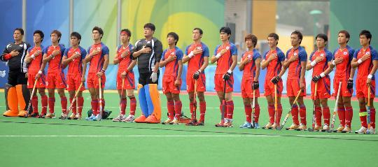 图文-奥运男曲中国负韩国