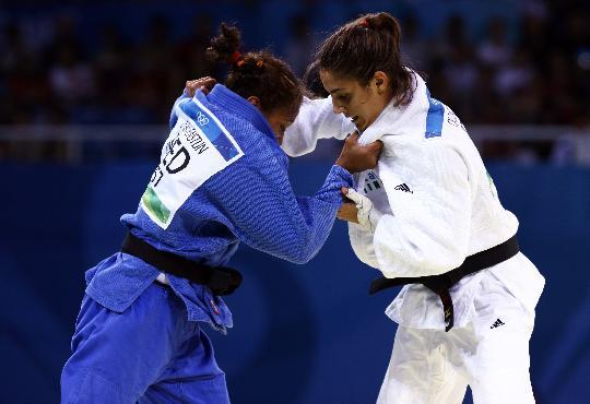 图文-女柔57公斤级意大利选手摘金 都在寻找机会