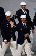 图文-开幕式入场仪式 美国篮球运动员贾森-基德