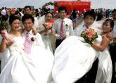 工地婚礼喜迎北京奥运