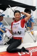 女子单人艇徐莉佳夺铜牌