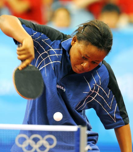 乒乓球女单预赛