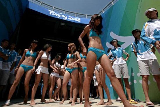 图文-奥运会沙排经典瞬间回顾 比谁身材更好