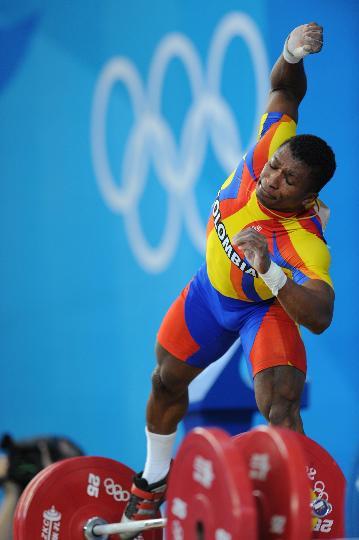 图文-举重男子62公斤级决赛赛况 菲格罗亚试举失败