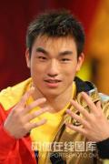 图文-廖辉做客冠军面对面 我还要拿更多冠军