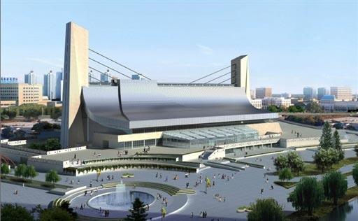 北京2008奥运场馆巡礼 奥体中心体育馆