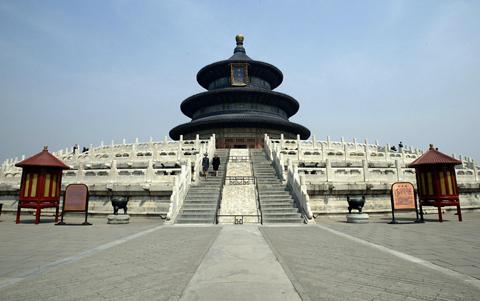 图文-奥运城市掠影之北京 静谧的天坛祈年殿