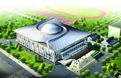 北京2008奥运场馆巡礼 北京大学体育馆