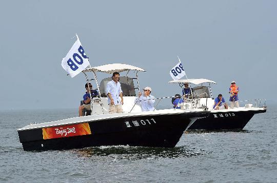 图文-奥帆赛工作船艇之帆船小常识 转播商工作船