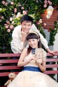 图文-佩剑冠军仲满结婚照 温馨甜蜜