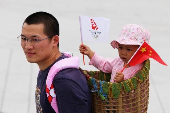 奥运北京街头众生相