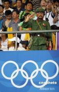 图文-奥运赛场内外的怪客 恍惚回到数十年前