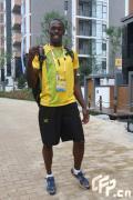 图文-奥运村的幸福生活 博尔特踌躇满志