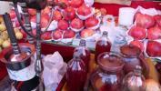 图文-祝福北京塔塔尔族使者评选 鲜榨的石榴汁