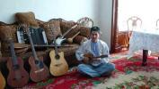 图文-祝福北京塔塔尔族使者评选 乐器是他的宝贝