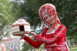 图文-祝福北京柯尔克孜族使者评选 祝福物毡房