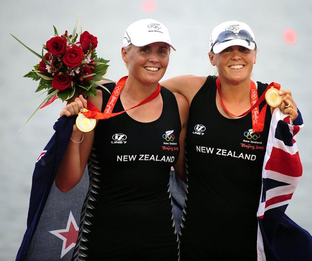 图文-[奥运]赛艇女子双人双桨 新西兰队夺得冠军