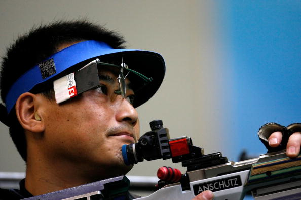 图文-08奥运会射击比赛集锦 夺冠是靠坚毅不是运气