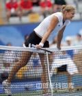 图文-奥运会网球比赛精彩瞬间回顾 气势压到对手