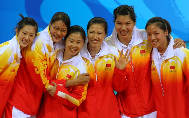 图文-[奥运]女排巴西3-1美国 女排姑娘季军仍面带笑容