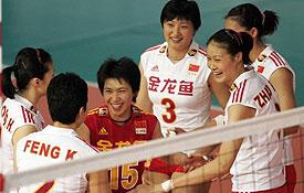 瑞士女排精英赛第五日 中国胜德国获得亚军