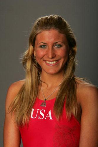图文-美国奥运代表团成员写真 女板选手瑞顿豪斯