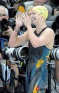 女子100米蝶泳澳夺冠