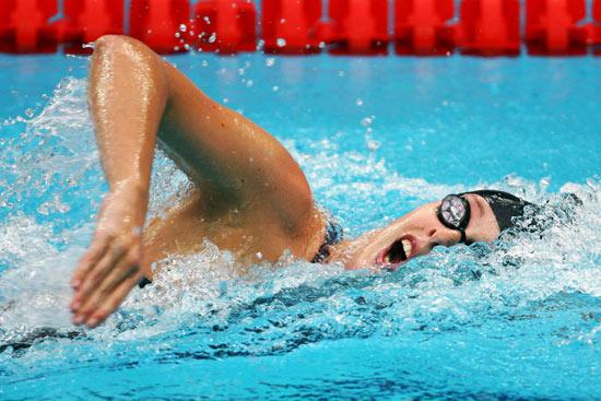 女子自由泳200米半决赛