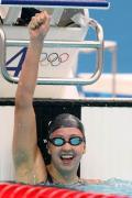 图文-女子200米蛙泳决赛 冠军丽贝卡-索尼
