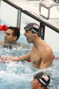图文-菲尔普斯100米蝶泳夺第七金 COME ON!