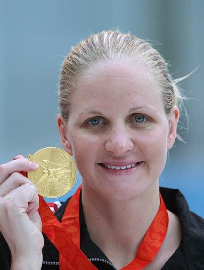 图文-女子200米仰泳决赛 津巴布韦选手考文垂