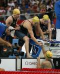 图文-女子4x100米混合泳接力 澳大利亚女队破纪录