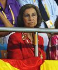 图文-奥运会20日男子水球八强赛 西班牙王妃