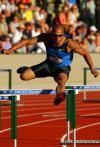 图文-美国田径奥运选拔赛 400米栏詹姆斯-卡特