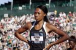 图文-美国田径奥运选拔赛首日 菲利克斯等待成绩