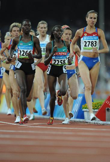 图文-女子3000米障碍俄罗斯选手夺金 萨米托娃领军
