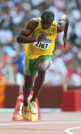 图文-奥运会男子200米预赛 博尔特能否再创奇迹