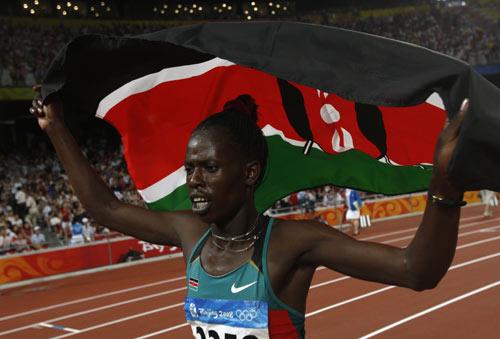 图文-田径女子800米决赛打响 享受金牌待遇